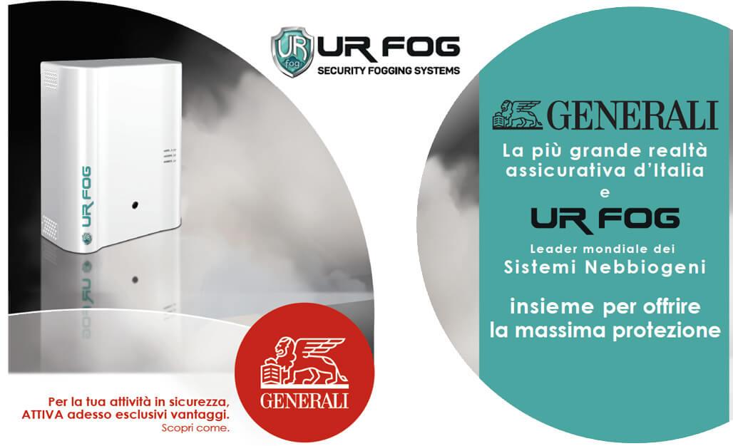 Partnership Ur Fog e Generali Assicurazioni