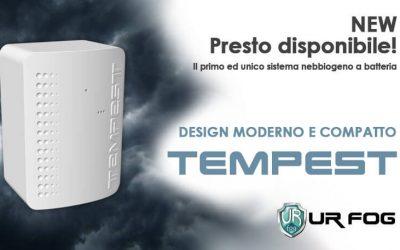 Antintrusione – Tempest il primo ed unico sistema nebbiogeno a batteria