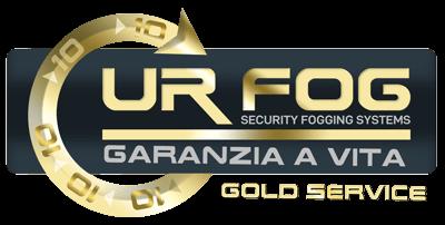 Garanzia a Vita Gold Service nebbiogeni antintrusione Ur Fog