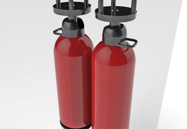 Double cylinder technology - UR Fog security fogging systems