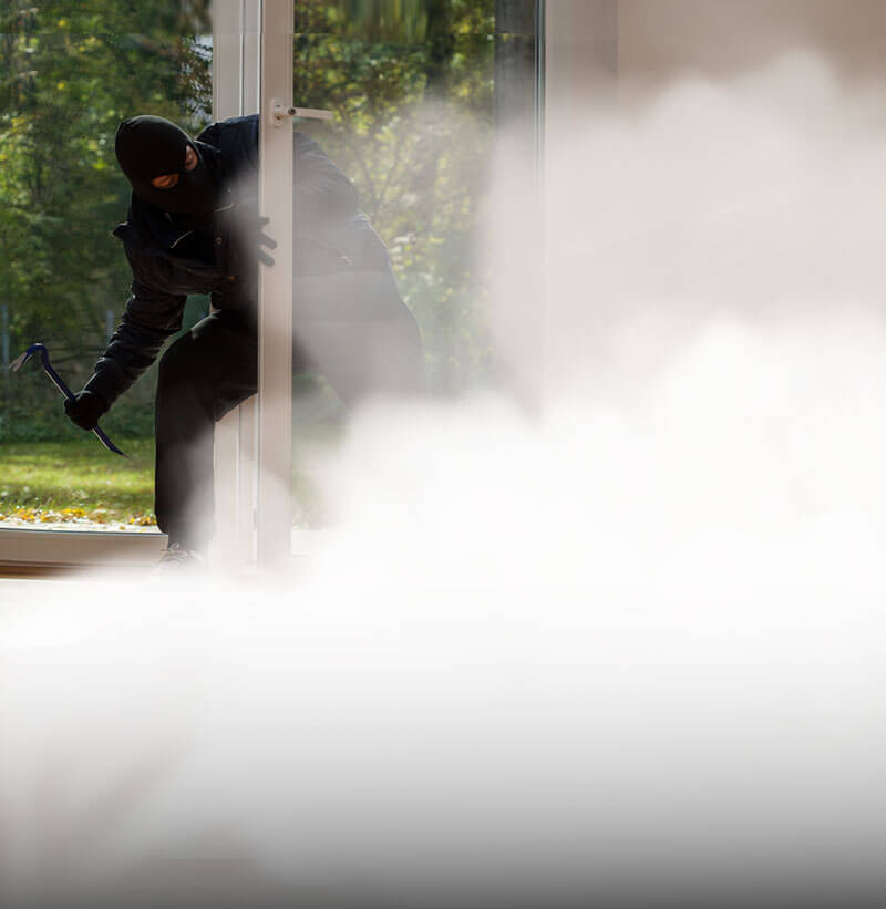 Sicurezza nebbiogeno Antintrusione Ur Fog